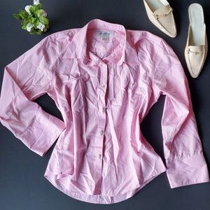 🌼Brooks Brothers Pink Button Shirt 100% cotton